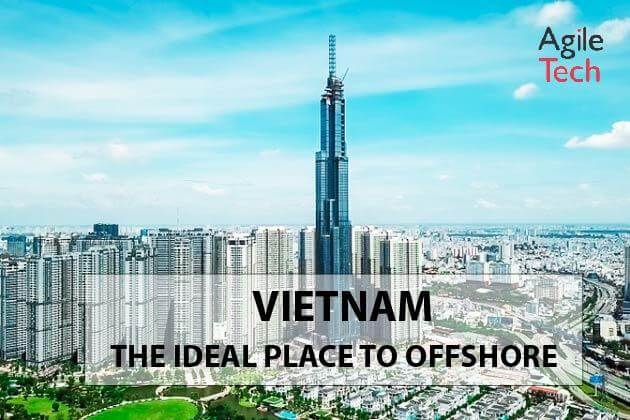 Vietnam is an offshore attractive destination for foreign companies.