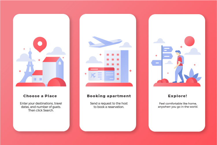how does airbnb work for guests, how does airbnb work for travelers, agiletech