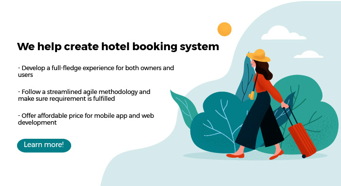 agiletech services, create hotel booking system