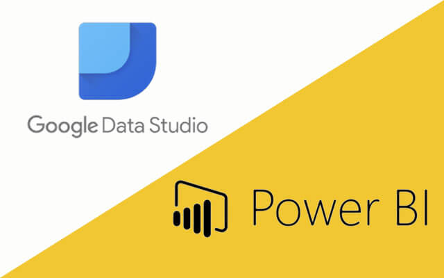 Power BI and Google Data Studio are data visualization software that you can interact with data, analysis, presentation and more.