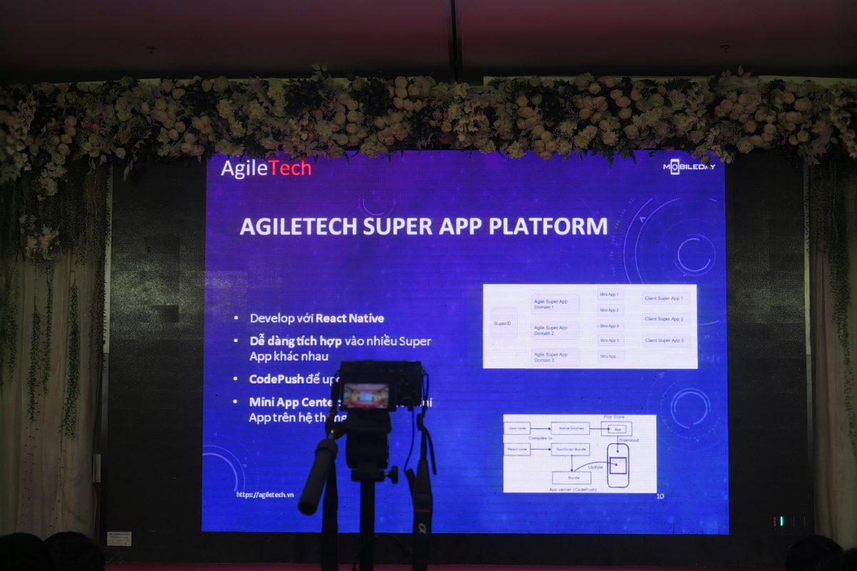 agiletech vietnam stage of evenr super app platform