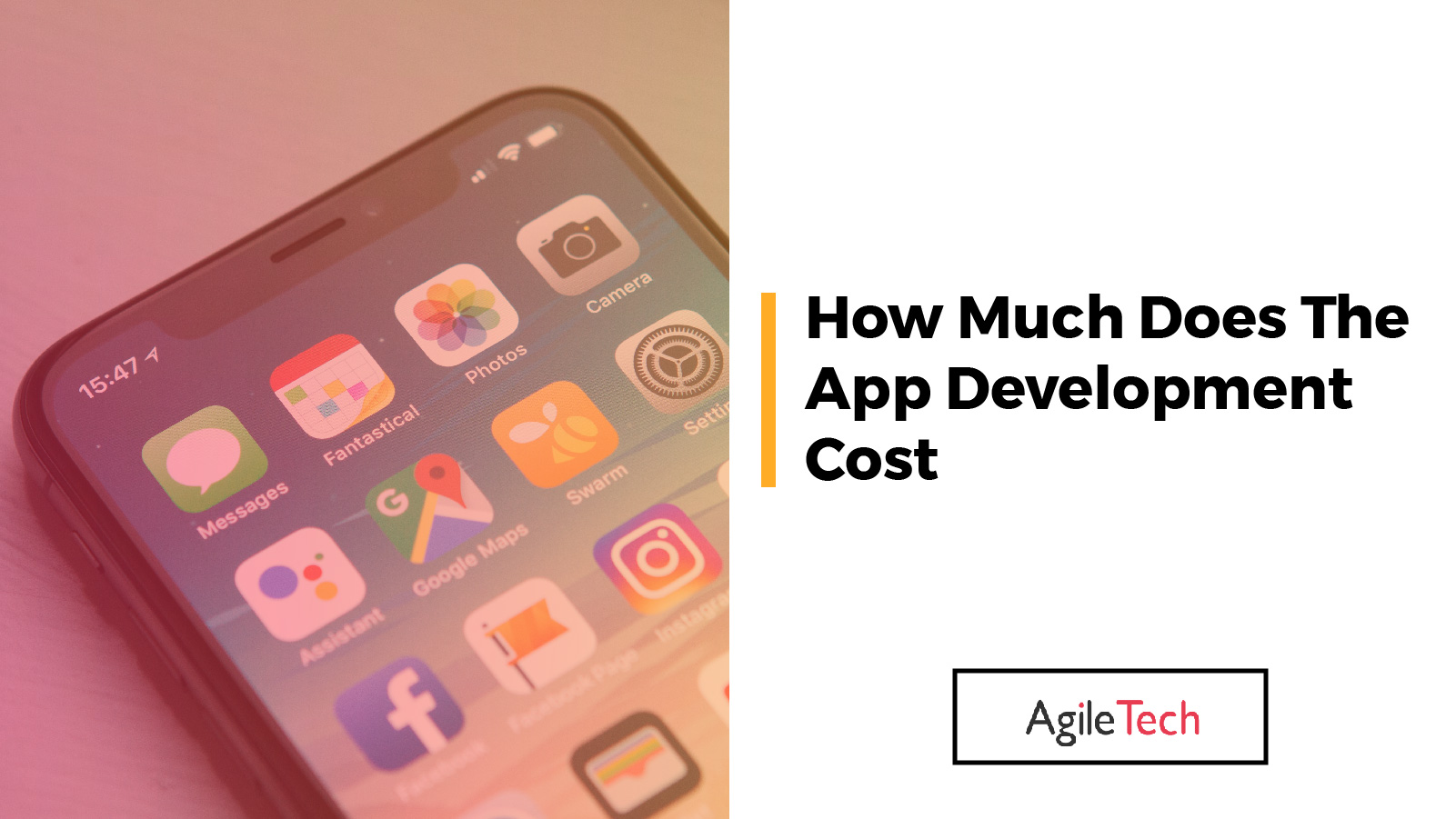 app development cost how much does it cost to develop app by agiletech