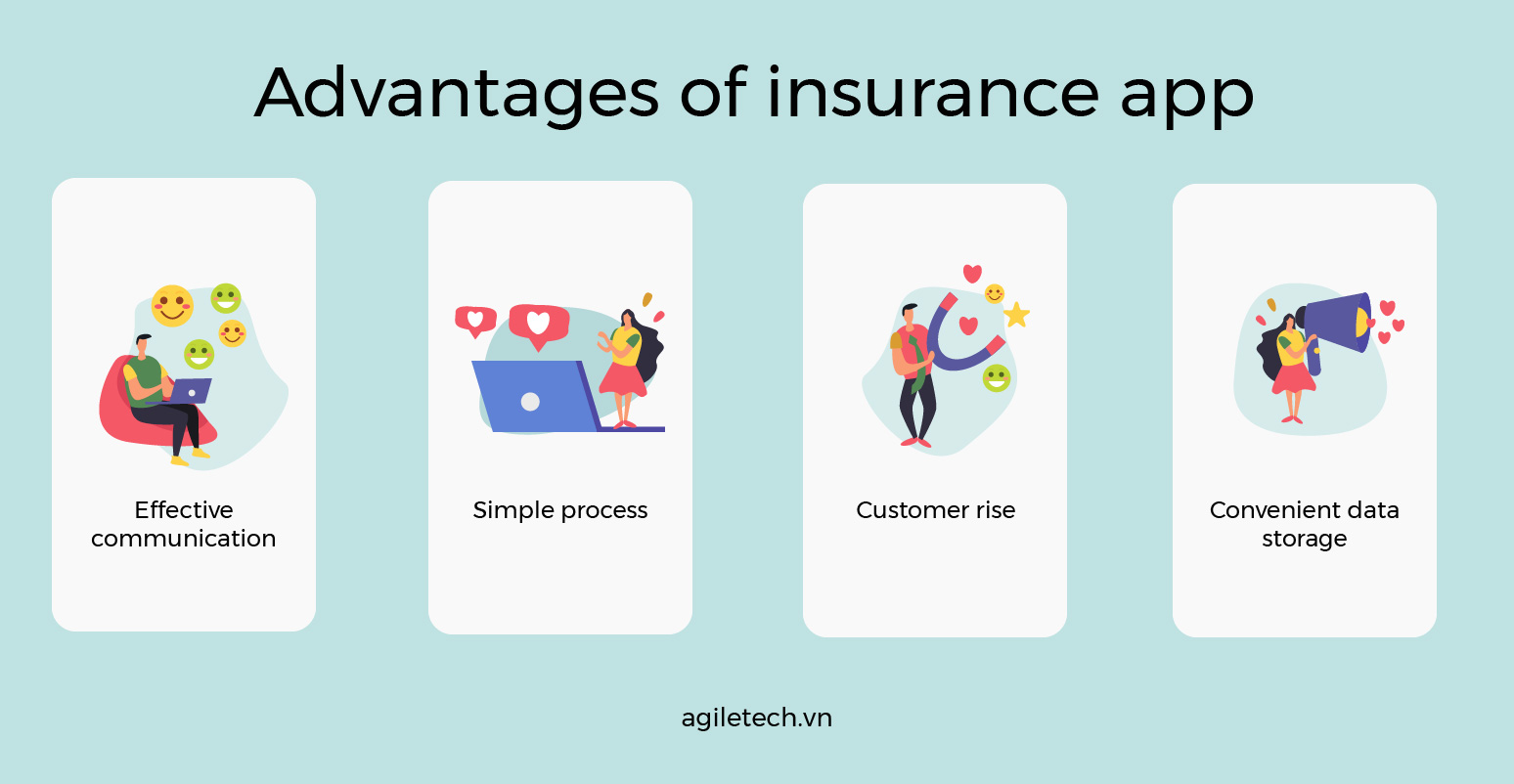 benefits of mobile app for insurance company