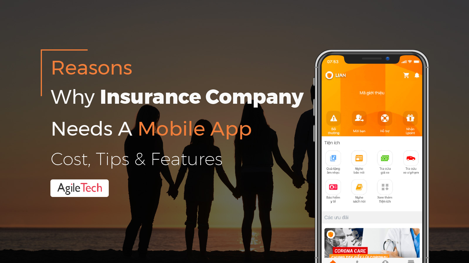 insurance app development advantage of having a mobile app for insurance company agiletech