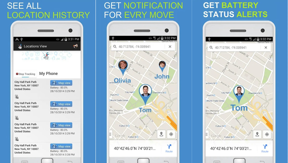 gps cell phone tracker by number
