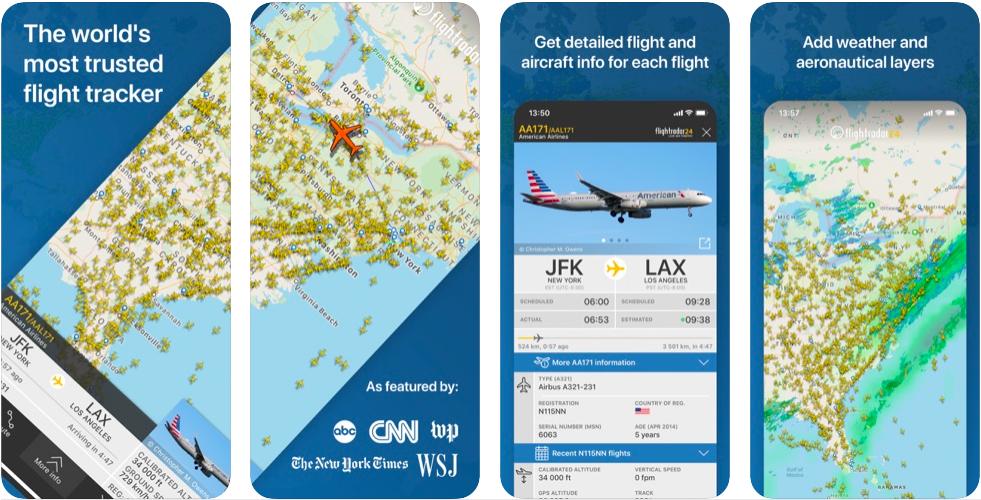 Flightradar24 live flight tracker real time tracker map