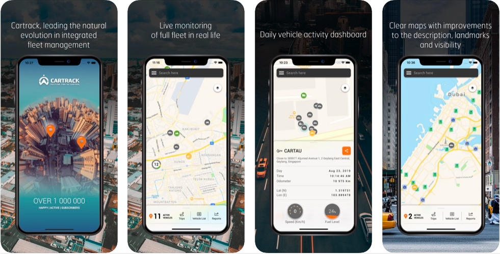cartrack best free location tracking app