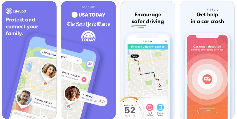 life360 family locator gps tracker location tracking app