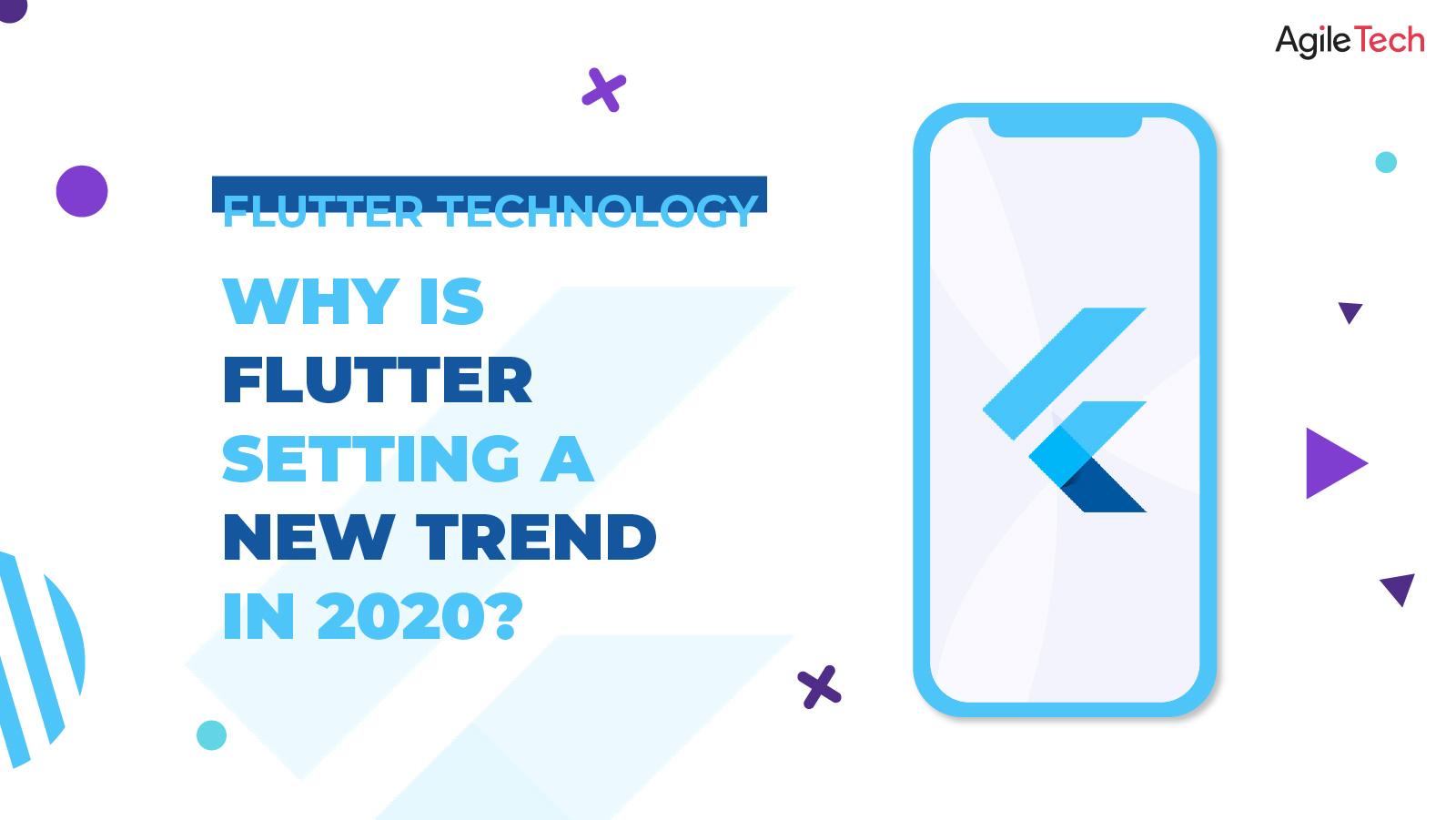 flutter, flutter vs react native, why is flutter setting new app development trend in 2020