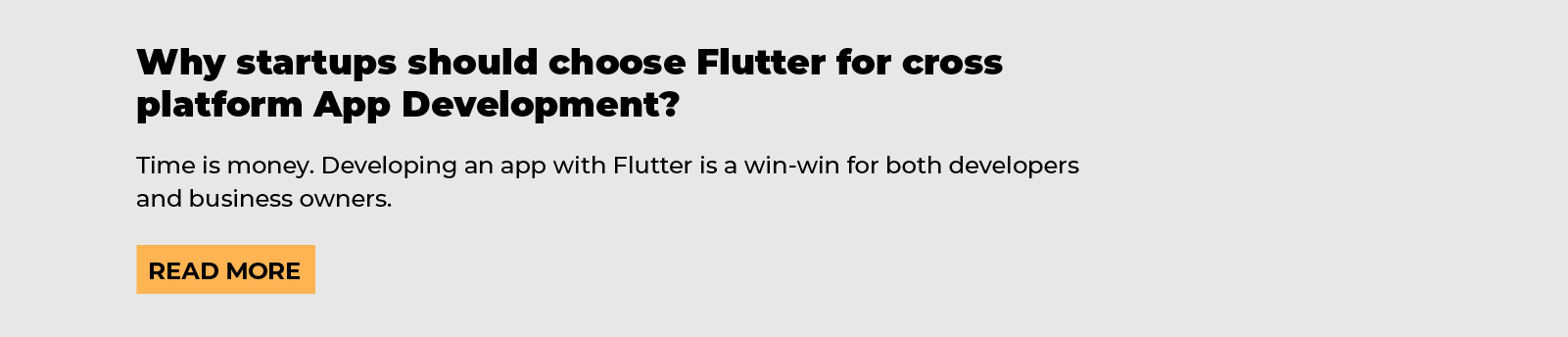 cross-platform development, why startups should choose flutter for cross-platform app development, agiletech