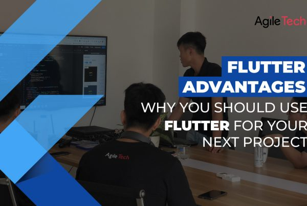 flutter advantages, pros and cons of flutter, why use flutter app development for project, agiletech