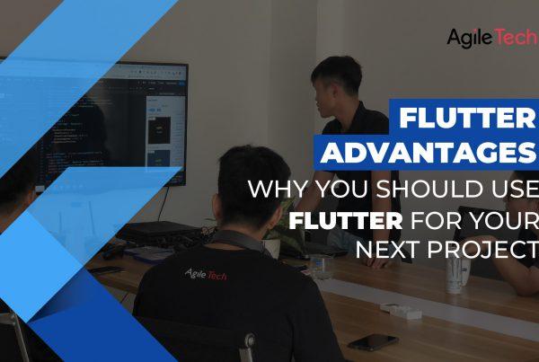 flutter advantages, pros and cons of flutter, why use flutter app development for project, agiletech