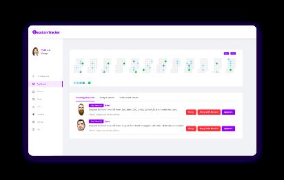 vation tracker deliver effortless leave management, vacation tracker admin dashboard