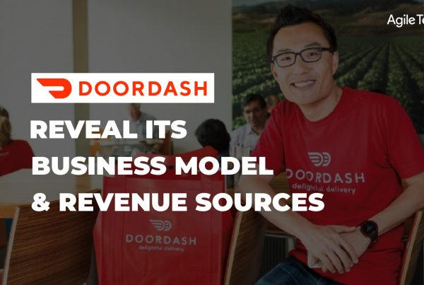 how does doordash work, business model and revenue source of doordash, food delivery platform like DoorDash, how does on-demand app make money, agiletech