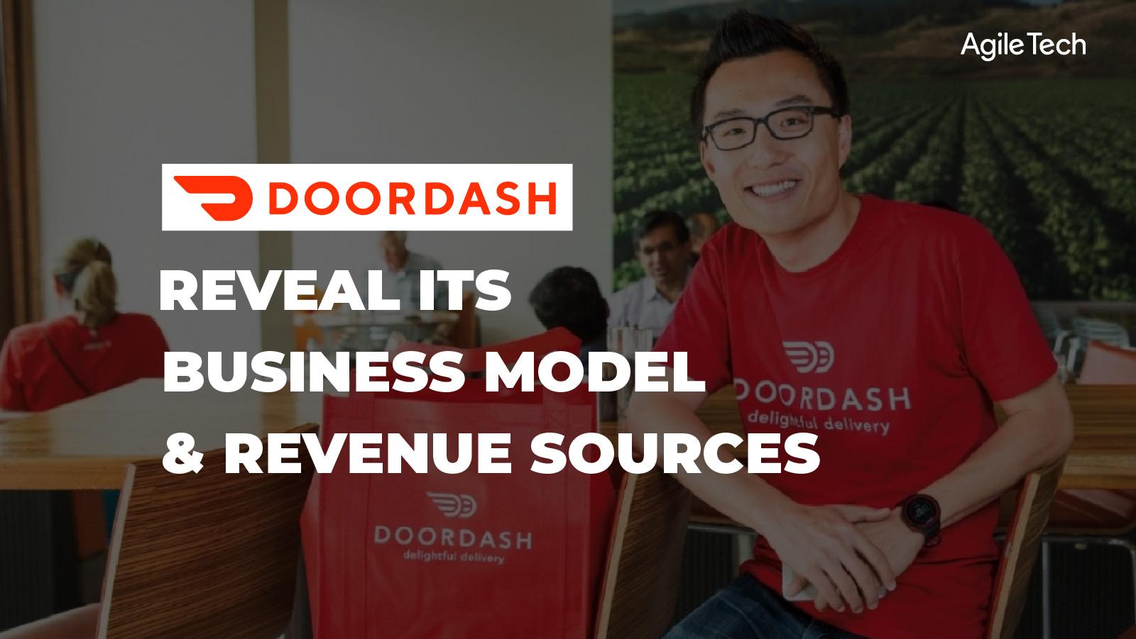 how does doordash work, business model and revenue source of doordash, food delivery platform like DoorDash, how does on-demand app make money, agiletech