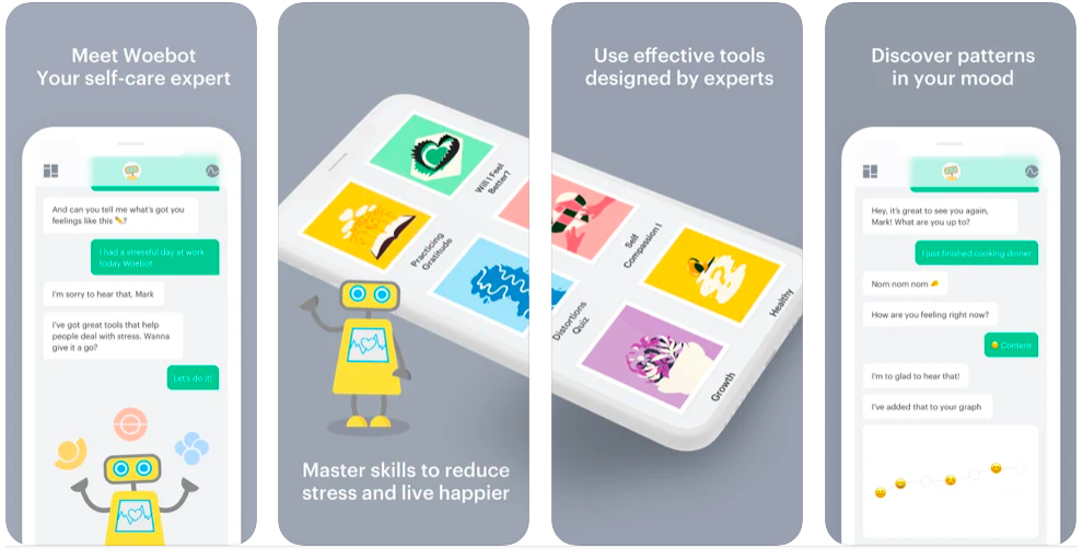 Woebot mental healthcare app