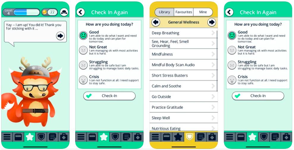 booster buddy app, mental health buddy app