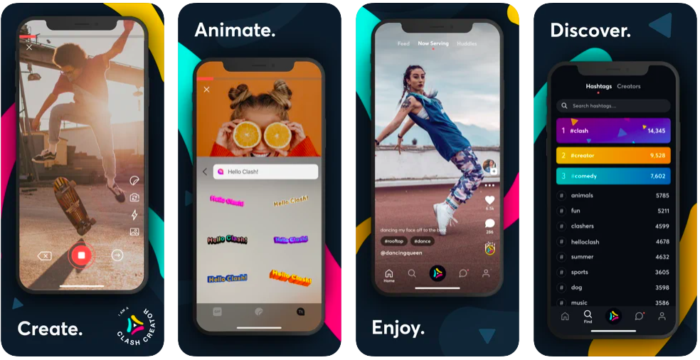 clash video app, another tiktok replacement, tiktok alternatives