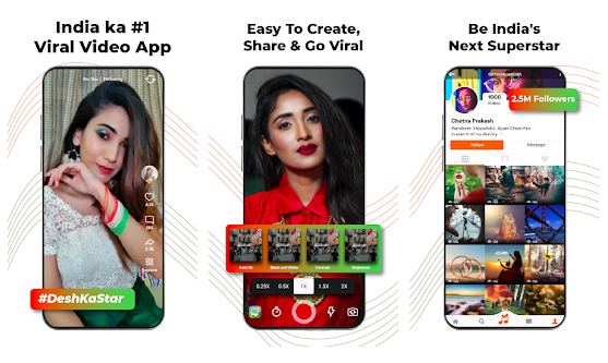 Mitron India's Original Short Video App, alternatives of TikTok,