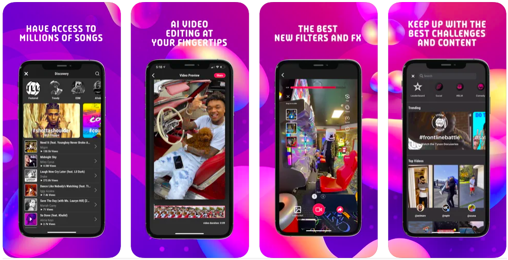 triller social video platform, tiktok like app
